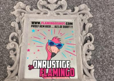 Flamingoshot Spiegel
